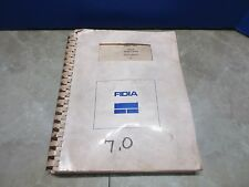 FIDIA CNC BASIC FUCTIONS MDO422-1-07/92 COPY MILL
