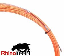 15 metre X 4.5mm Conduit snake  Cable puller pulling rodder electricians