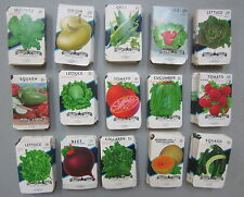 Wholesale Lot of 1,500 Old - VEGETABLE SEED PACKETS - Texas - Lone Star Seed Co.