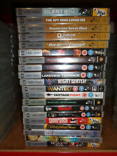 PSP UMD Movies  x 20 new & sealed mixed titles RRP £50+  (box 242)