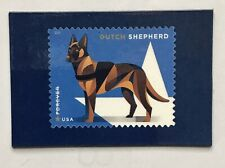 Dutch Shepard Dog Akc Postage Stamp Magnet