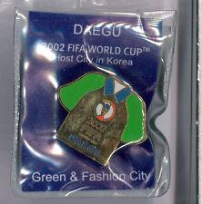 Korea Japan 2002 World Cup soccer pin - Daegu venue - FIFA football badge