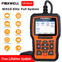 Foxwell NT510 Elite for GM All System OBD2 Scanner Car Diagnostic Tool ABS Oil