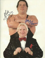 ANDRE THE GIANT BOBBY HEENAN SIGNED PHOTO 8X10 RP AUTOGRAPHED WWE WWF WRESTLING