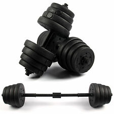 30kg Dumbbell Set Gym Free Weights Biceps Gym Workout Training Fitness Non-slip