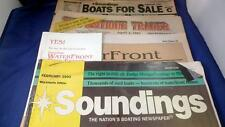 1993 Paper Lot 4 Boats For Sale Antique Trader Soundings Boating Newspaper magaz