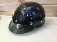 U.S.A. American FLAG AGV HARLEY DAVIDSON Half Helmet DJ HD Size M