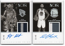 2019-20 Panini Noir Prime Materials Black White Autographs GU Auto /40 Pick Any