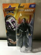 WWE JEFF HARDY SERIES 97 SUMMER SLAM NEW  TOP OF CARD  CREASED