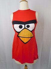 Angry Birds Tween Girl's Red Bird Halloween Costume Dress Child 7-8 Medium #5447