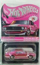 New! Hot Wheels RLC Exclusive 2020 Convention '70 Ford Mustang Boss 302 Pink