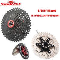 Sunrace 8/9/10/11S MTB Rennrad Kassette Fahrrad Freilauf Fit SHIMANO SRAM