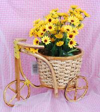 Planter Basket Gift Basket Bike Arts Crafts Bamboo Basket Bamboo Planter