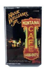New Sealed Hank Williams Jr. - Montana Cafe 1986 Vintage Cassette Mint