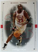 1998 98 SP AUTHENTIC SAMPLE MICHAEL JORDAN #23, Bulls