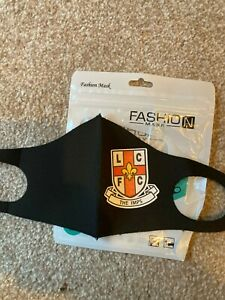 LINCOLN CITY COAT ARMS FOOTBALL FACE COVER/MASK
