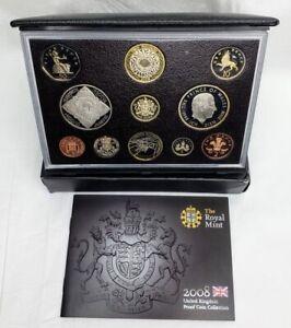 Royal Mint 2008 Proof UK Coin Set