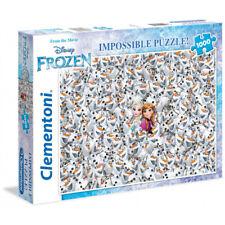 Clementoni Disney Frozen Impossible Puzzle 1000 pieces