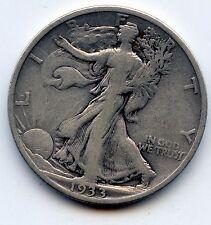 Walking Liberty half 1933-s (SEE PROMO)