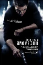 JACK RYAN SHADOW RECRUIT -2014- Orig D/S 27x40 ADVANCE movie poster - CHRIS PINE