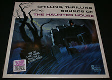 CHILLING THRILLING SOUNDS OF The Haunted House VINYL LP NEW Disneyland Halloween