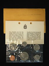 1969 Canada Uncirculated Voyageur Dollar Mint Set - 6 Coin