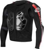Alpinestars Bionic Pro Protective Jacket Black/Red Adult Size XL 6506616-123-XL
