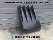 SUBARU IMPREZA WRX SEDAN REAR BAR DIFFUSER 2001 TO 2005 MODELS