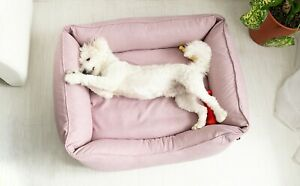 Dog Bed Medium Orthopedic Cushion Calming Removable Cover Durable