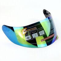 US Rainbow Motorcycle Wind Shield Helmet Lens Visor For AGV K3SV K5 CG902 CG316