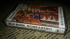 NOMEANSNO  & JELLO BIAFRA CASSETTE TAPE THE SKY IS FALLING AND I WANT MY MOMMY