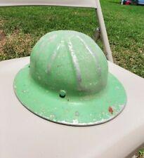 Vintage B.F. McDonald Co. Aluminum Full Brim Hard Hat patent no. 2177145