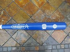 "LOUISVILLE SLUGGER OLD STYLE BEER CHICAGO CUBS ENGRAVED LOGOS 34"" WOOD BAT RARE"