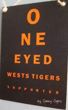 Wests Tigers One Eyed Magpies Balmain Sign Jersey Cards Shorts Rugby League Etc