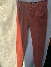 Kiton Cotton Blend Metal Button Fly Casual Mens LUXURY Pants 32 Slim