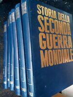 STORIA DELLA SECONDA GUERRA MONDIALE Rizzoli Purnell 1966 6 volumi