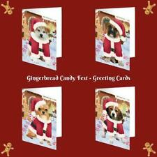 Christmas Gingerbread Candyfest Dog Cat Pet Photo Greeting Invitation Card