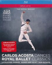 Carlos Acosta Royal Ballet Dances Classics Bluray Blu-ray NEW Royal Ballet