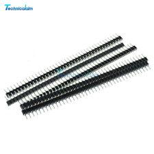 10Pcs Strip Tin PCB IC Breakable Female 40pin Single Row Round Header Socket