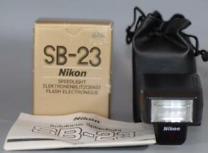 Nikon SB-23 TTL AF Autofocus Speedlight Flash - unused in box!