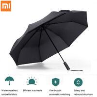 Xiaomi Automatic Umbrella Sunny Rainy Aluminum Windproof Waterproof UV Parasol