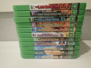 Kids dvd bundle x 11 - The Land Before Time almost complete set