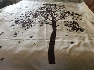 """Better Homes & Gardens Farley Tree Fabric Shower Curtain, Brown Tree 69""""X72"""""""