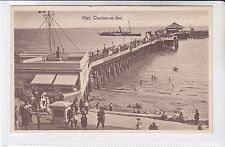 POSTCARD PIER, CLACTON ON SEA sent to 202 HIGH ROAD, WILLESDEN GREEN ,LONDON NW6