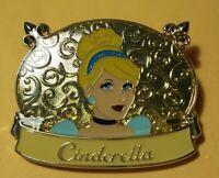Disney Cinderella Princess Plaque LE-300 Pin 2014 **NEW**