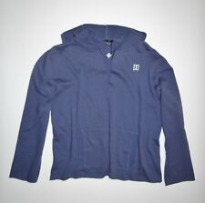 New DC Shoes Womens Orion Cutoffs Pullover Terry Fleece Hoodie Size Medium