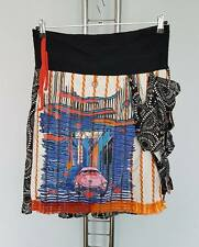 Save the Queen Womens Black / Multi  Skirt  size S