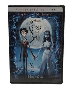 Tim Burton's The Corpse Bride DVD 2006 Johnny Depp DVD Free Tracked Post