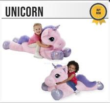 Pink Pets Unicorn Giant Soft Toy Plush Stuffed Teddy Xmas Gift UK 60cm-110cm New