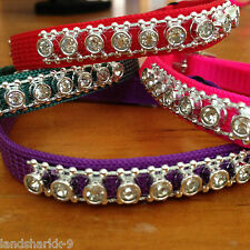 Diamonte Nylon Collar for a Diva Puppy Dog or Cat / Kitten